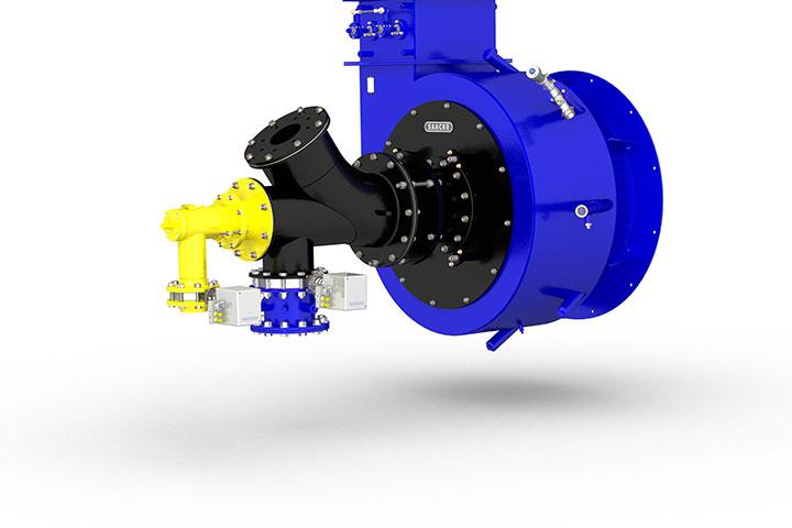 Industrial gas burner   SAACKE- SAACKE Group